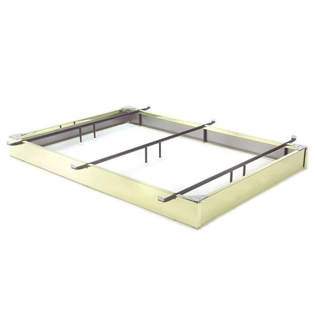 Brass Finished Steel Bed Pedestal