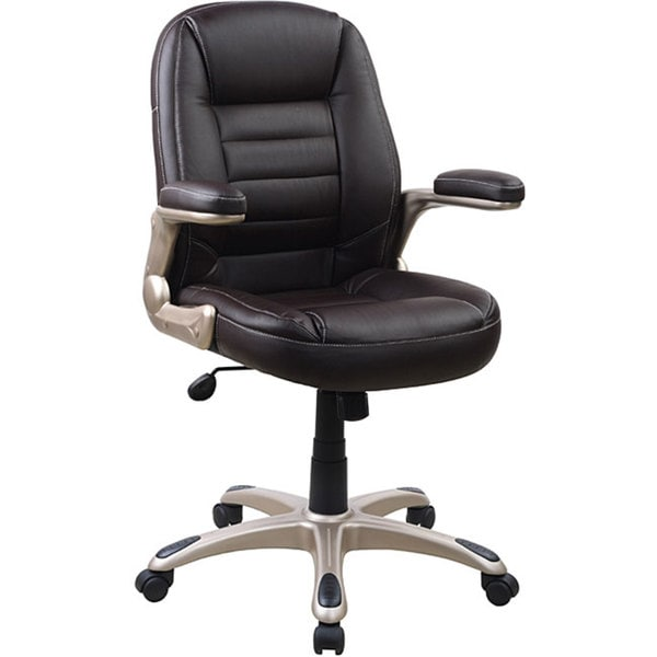 Manager's Ergonomic Five-star Office Brown Chair