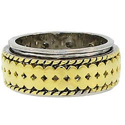 Two-tone Spinner Band