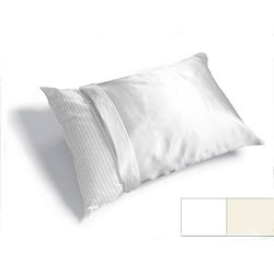 Haircare Standard Woven Polyester Satin Pillow Cover (Case of Six)