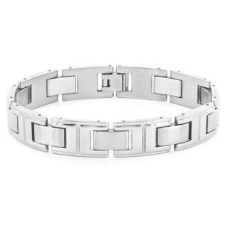 Stainless Steel Men's Link Bracelet