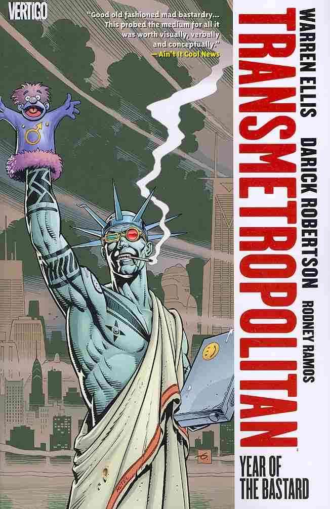 Transmetropolitan: Year of the Bastard (Paperback)