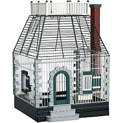 Prevue Pet Products Featherstone Heights Stone Cottage Bird Cage 292