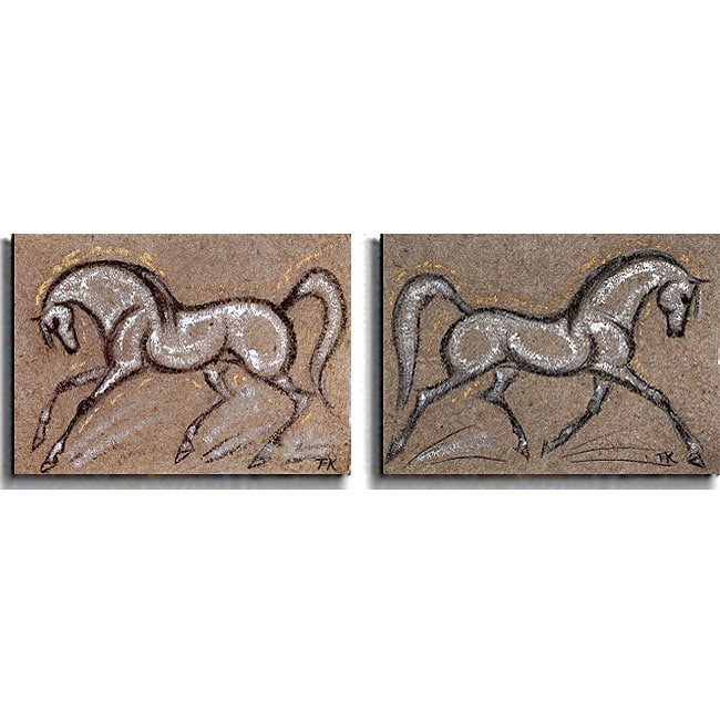 Kirkwood 'Morning Star and Psalm' Canvas 2-piece Set