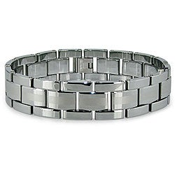 Men's Tungsten Carbide Bracelet (17 mm)