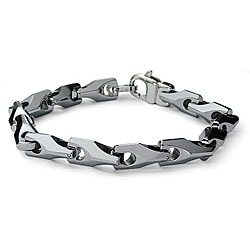 Men's Tungsten Link Bracelet (11 mm)