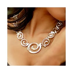 Sterling Silver 'Soul's Inception' Choker (Mexico)