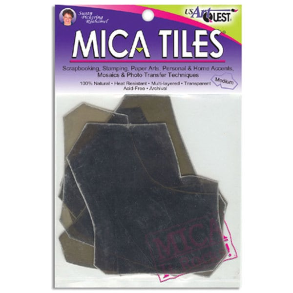 Medium 5x6-inch 1-oz Mica Tile
