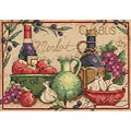 Mediterranean Flavors Counted Cross Stitch Kit