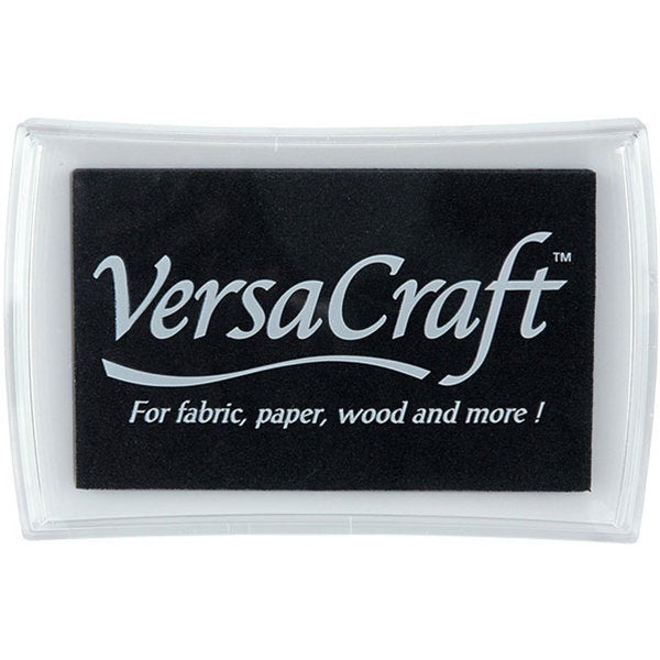 VersaCraft Real Black Inkpad