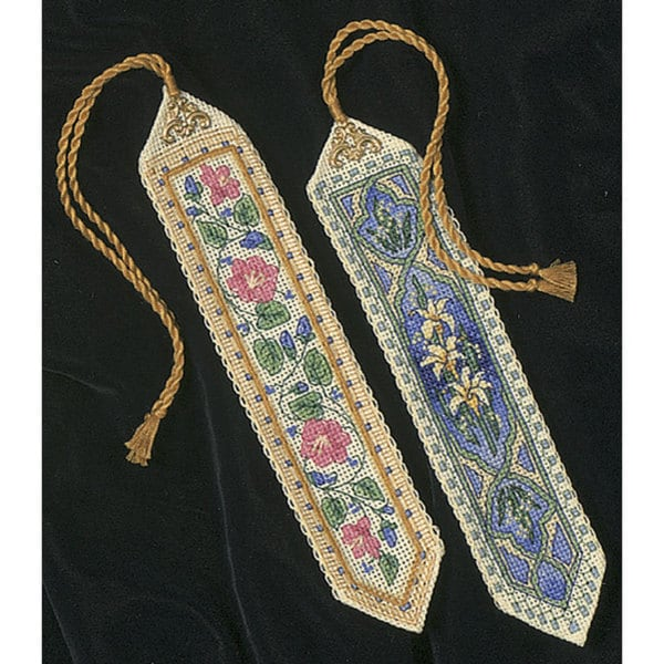 Gold Collection Bookmarks Counted Cross Stitch Kit (Pack of 2)
