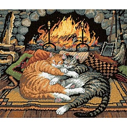 'All Burned Out' 14 x 12 Needlepoint Kit
