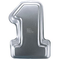 Wilton 'Number 1' Durable Lightweight Aluminum Novelty Cake Pan