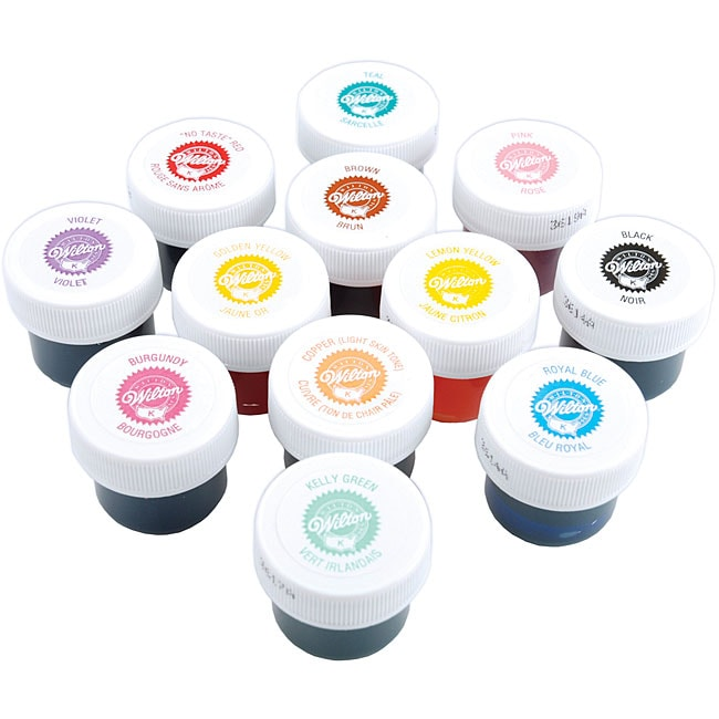 cake icing colors