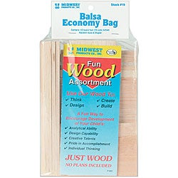 Balsa Wood Economy Bag