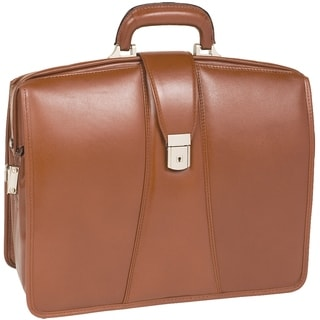 McKlein Harrison Brown 17-inch Partners Laptop Briefcase