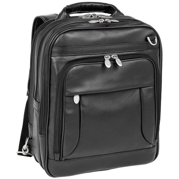 McKlein Lincoln Park LeatherThree-Way Computer Briefpack
