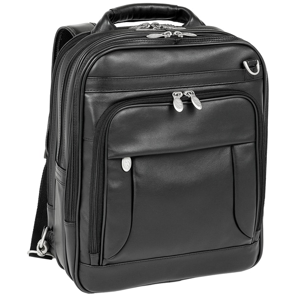 McKlein Lincoln Park LeatherThree-Way Computer Briefpack