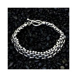 Sterling Silver 'Freedom' Bracelet (Indonesia)