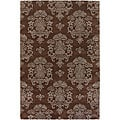 Hand-Tufted Mandara Contemporary Wool Area Rug (7'9