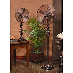 Deco Breeze Prestige Rustica 12-inch Table Top Fan