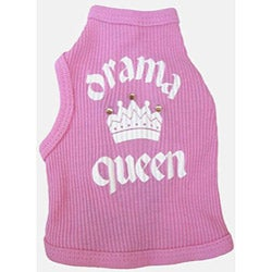 'Drama Queen' Dog Tank Top