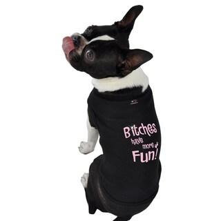 B*****s Have More Fun Dog Tank Top