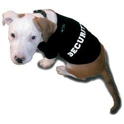 'Security' Cotton Dog Tank Top