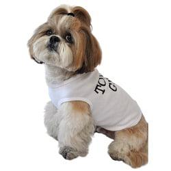 'Tough Guy' Cotton Dog Tank Top