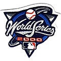 2000 World Series Patch