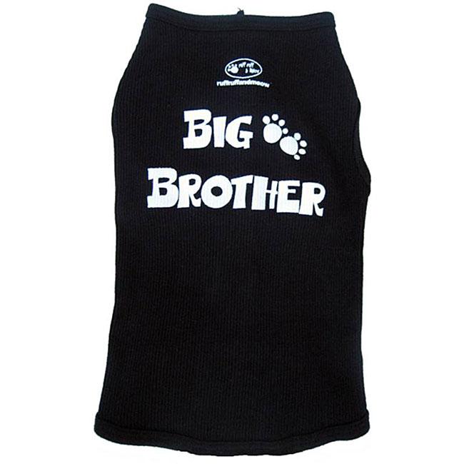 'Big Brother' Cotton Dog Tank Top