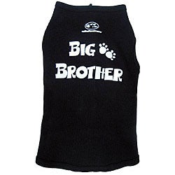 'Big Brother' Cotton Dog Tank Top