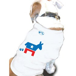 'Democrat' Cotton Dog Tank Top