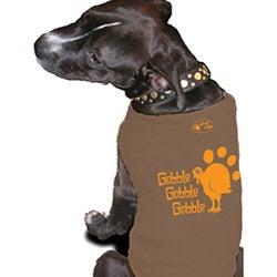 'Gobble' Cotton Dog Tank Top