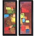 Howard Kline 'Terra Verde' Framed Canvas Art Set