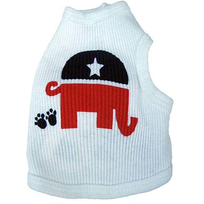 Ruff Ruff and Me 'Republican' Dog's Tank Top
