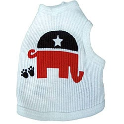 Ruff Ruff and Me 'Republican' Dog's Tank Top