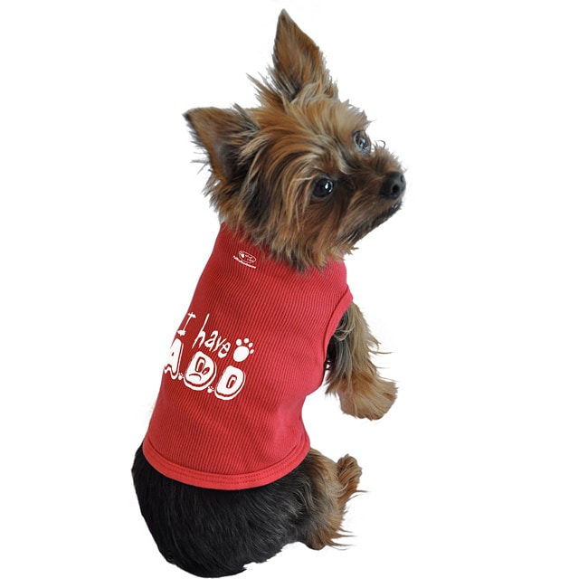 Ruff Ruff and Meow 'I Have A.D.D.' Dog's Cotton Tank Top