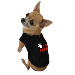 Ruff Ruff and Meow 'Little Killer' Cotton Dog Tank