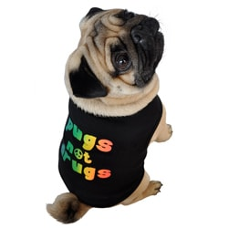 'Pugs Not Drugs' Pet Tank