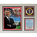 Barack Obama 11x14 Whitehouse Plaque