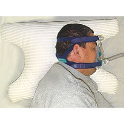 SleePap Soft Polyester-fill Polycotton-covered Pillow for CPAP Users