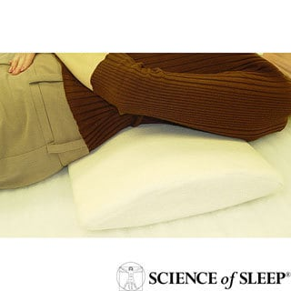 Science of Sleep Memory Foam Spinal Back Pillow