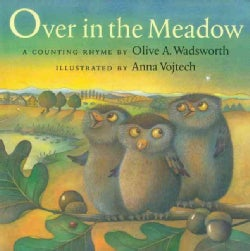 Over in the Meadow: A Counting Rhyme (Hardcover)