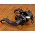 Oil-rubbed Bronze Door Lever Privacy Set