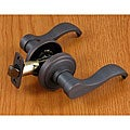 Oil-rubbed Bronze Door Lever Passage Set