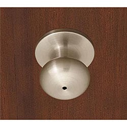 Satin Nickel Mushroom Dummy Doorknob