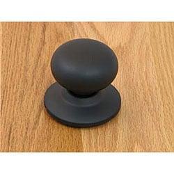 Matte Black Doorknob Dummy