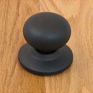 Matte Black Doorknob Dummy