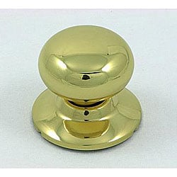 Polished Brass Dummy Doorknob
